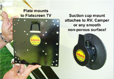 Gostik Products Flat Screen Tv Suction Cup Mount Gostik